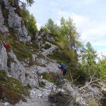 Aufstieg zum Sattelnock