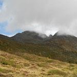 der Gipfel war leider meistens von Nebel umgeben
