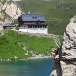 die Wolayersee-Hütte