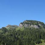 Panoramablick von der Rattendorfer Alm