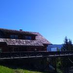 vorbei an der Berggeisthütte