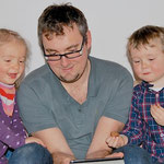 Lesestunde mit Matthias, Johanna und Simon