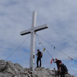 Ankunft am Gipfel auf 2146m