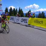 Zieleinlauf  5. Etappe der Österreich Radrundfahrt