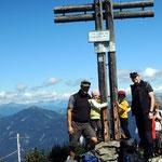 Gipfelfoto am Poludnig