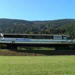 im Herbst 2014 rollte der Transport zum Weissensee