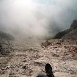 eine Nebelfront