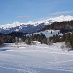 schönes Winterwetter
