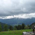 Blick ins Gailtal und den Karnischen Alpen
