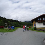 bedeckt war das Wetter bei unserer Radtour