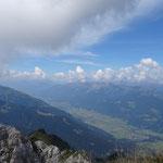 Rundblick vom Gipfel