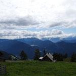 Blick zum Weissensee (im Hintergrund)