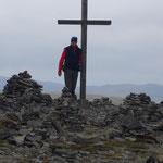zum Gipfel der Eisentalhöhe 2180 m