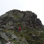 Aufstieg zur Mokarspitze
