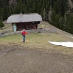 die Napalnalm-Hütte