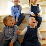 unsere 4 Enkelkinder