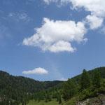 schönes Wetter beim Landesalm-Wandertag