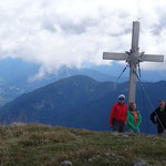 zum Gipfel des Oisternig auf 2.052 m