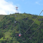 Fahrt mit der Goldeck Bergbahn