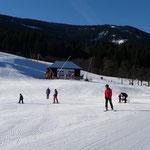 Skilift in Weissbriach