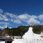 Ein sonniger Wintertag in Weissbriach