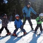 auch beim Skifahren