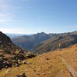 über das Zweiseetörl (2368 m)