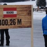 Österreichischer Rekord 400,26m