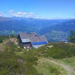 Abstieg über die Goldeckhütte