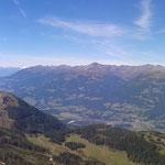 Panoramablick vom Sattelnock