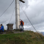 Gipfelfoto Hans