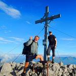 zum Gipfel des Reißkofel
