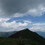 Blick zum nächsten Gipfel (Gaugen 2195 m)