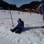 Skifahren macht müde