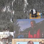 Kärntens Abfahrts-Olympiasieger Fritz Strobel eröffnete das Turnier.