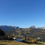 """""""Postkarten Wetter"""" auf den Bergen"""