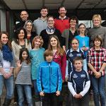 Unsere erfolgreichsten Einradler/innen bei der Sportlerehrung des Landkreises Eichstätt 2011