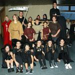 "Nikolausfeier 2012: Die Freitagsgruppe zum Thema ""Mittelalter"" als Hexen"