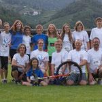 Einrad-Weltmeisterschaft UNICON 16, Brixen, Juli 2012: Gruppenfoto