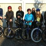 Einradtour Februar 2012