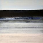 Nocturen #11, acrylverf, pigment op linendoek, 50x50cm / 2013 / verkocht