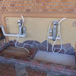 足洗い場など、細かい気配り