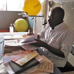 Jacques, Major du service kiné de Mbouo