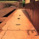 Parcours de marche en extérieur - Hôpital de Mbouo