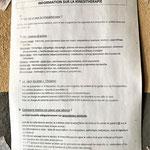 Service de kinésithérapie de l'hôpital de Mbouo