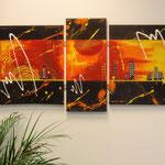 heat, Größe 130 x 70 cm, vergeben - Sylvio Zornsch