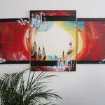 neuer tag an der küste, Größe 140 x 70 cm, vergeben - Sylvio Zornsch