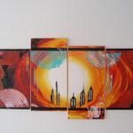 ein neuer tag 2 , Größe 140 x 80 cm, vergeben - Sylvio Zornsch