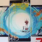 kieler leuchtturm, Größe 130 x 70 cm, vergeben - Sylvio Zornsch