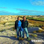 Schutthaufen auf den Opal-Feldern